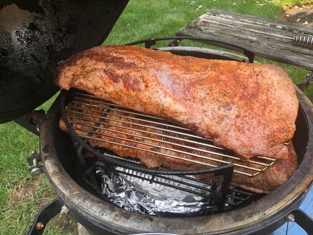 Briskets on the Egg